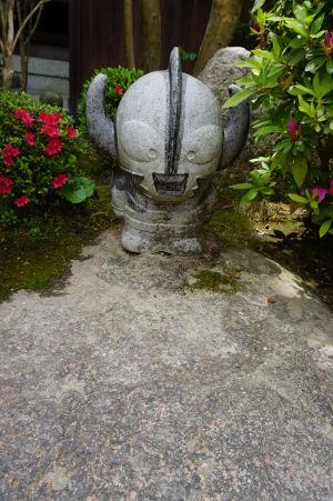 Soška v budhistickom komplexe Daišó-in