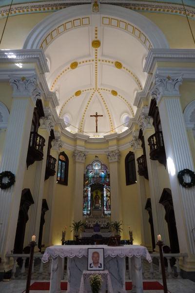 Chrám sv. Vavrinca (Freguesia de São Lourenço) v Macau