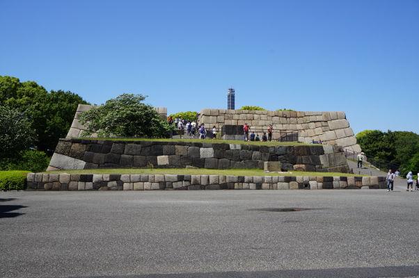Cisársky palác v Tokiu - pozostatok jednej z hradieb