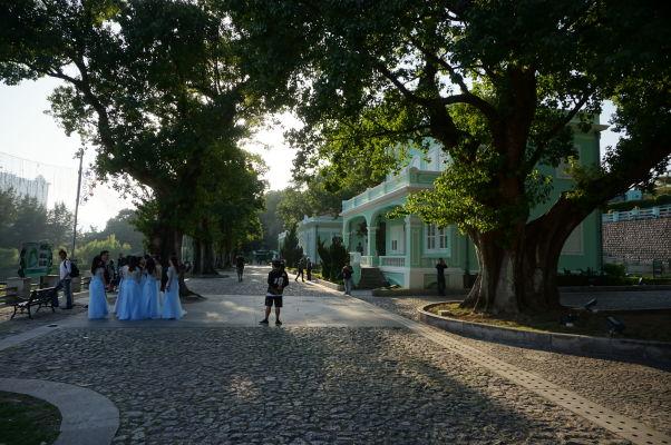 Múzeum domov v Taipe - ukážka koloniálnej architektúry Macaa
