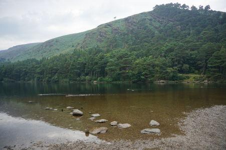 Horné jazero v údolí Glendalough