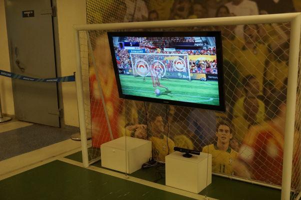 Štadión Maracanã v Riu de Janeiro - kedysi sa tu dal zahrať i virtuálny futbal