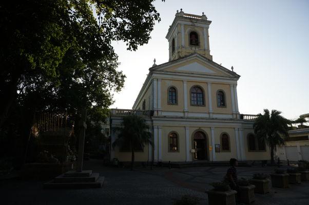 Chrám Matky Božej Karmelitskej (Igreja de Nossa Senhora do Carmo) v Taipe