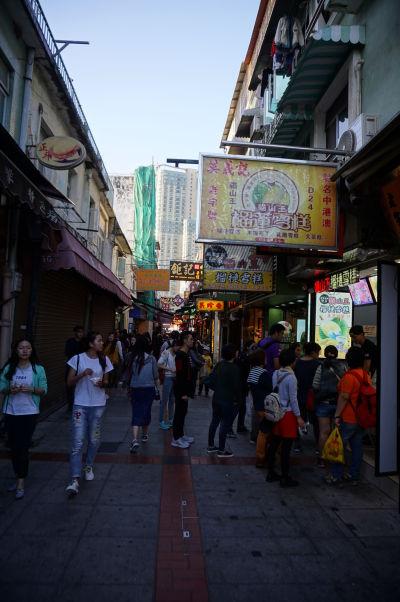 Uličky s obchodíkmi v Taipe