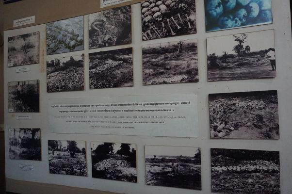 Vražedné polia Cheoung Ek - Miestne múzeum dokumentuje hrôzy režimu Červených Kmérov