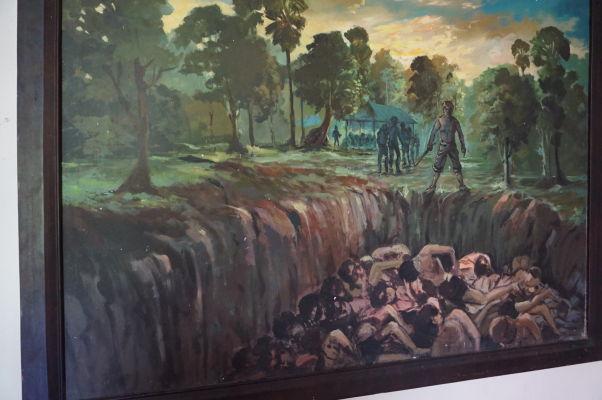 Vražedné polia Cheoung Ek - Ilustrácia toho, čo sa dialo v tomto tábore smrti, asi nepotrebuje komentár
