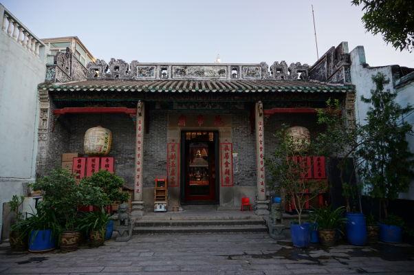 Chrám Pak Tai v centre ostrova Taipa