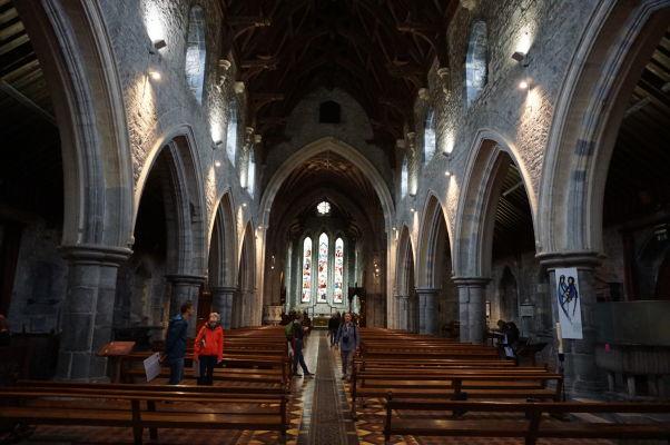 Gotická Katedrála sv. Canicia v Kilkenny - hlavná loď