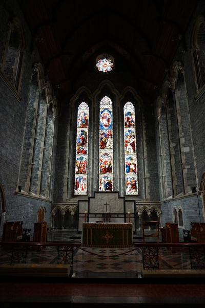 Gotická Katedrála sv. Canicia v Kilkenny - hlavný oltár