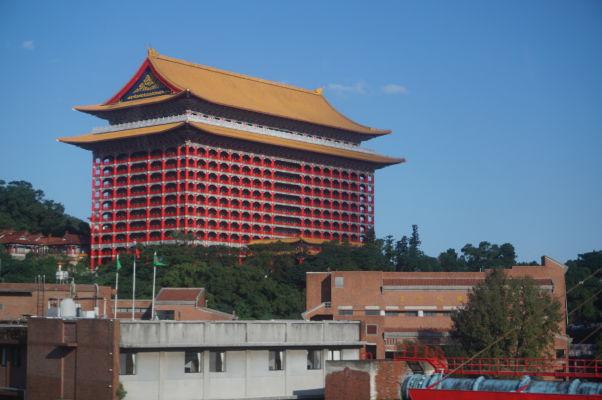 Grand Hotel v Tchaj-peji, kedysi hlavná ikona mesta