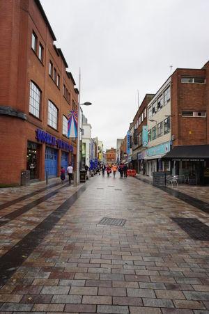 V uličkách Belfastu