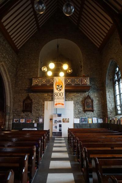 Čierne opátstvo (Black Abbey) v Kilkenny - chórus
