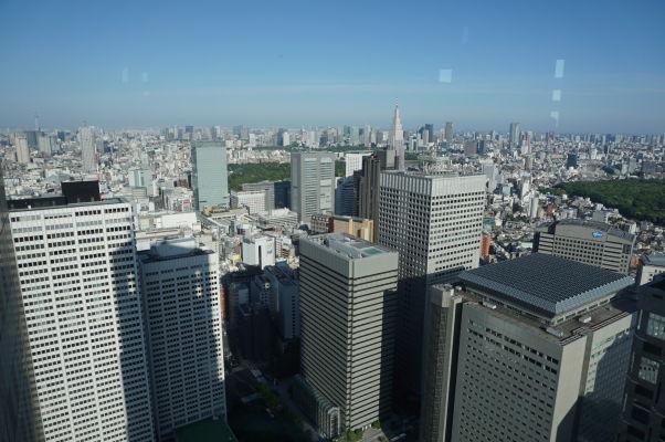 Budova metropolitnej vlády (Točó) v Tokiu - vyhliadka na mesto je k dispozícii zadarmo