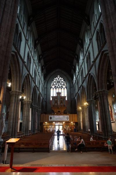 Katolícka Katedrála sv. Márie v Kilkenny - hlavná loď