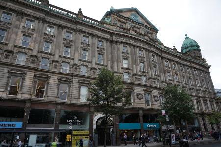 Budova v centre Belfastu, slúžiaca ako sídlo viacerých spoločností