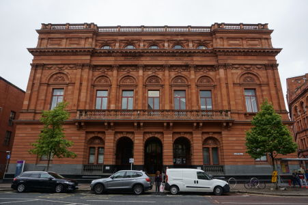 Budova centrálnej knižnice v Belfaste