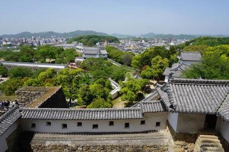 Výhľad z hlavnej veže hradu