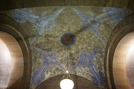 Katedrála sv. Anny - Mozaika štyroch archanjelov v Kaplnke Ducha Svätého