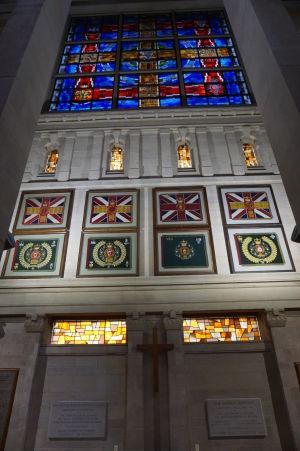 Katedrála sv. Anny - Kaplnka venovaná írskym vojakom