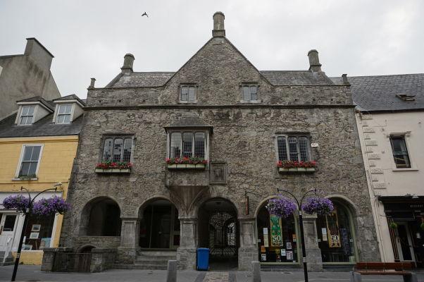 Dom obchodníka menom John Rothe z roku 1594 v Kilkenny - dnes zrekonštruovaný hostí archeologické múzeum