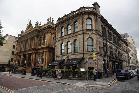 Luxusná reštaurácia a hotel v Belfaste