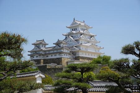 Hrad Himedži v plnej kráse