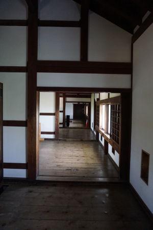 Obytná časť pevnosti Himedži, vyhradená vládnucej rodine