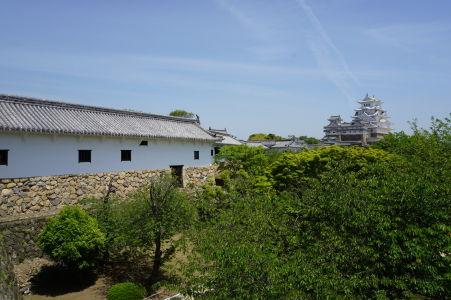 Výhľad z obytných komnát na pevnosť