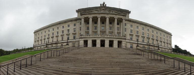 Budova parlamentu Severného Írska v Belfaste