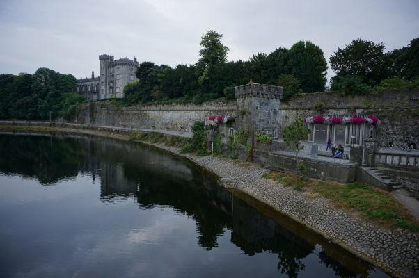 Stredoveký hrad v Kilkenny nad riekou Nore