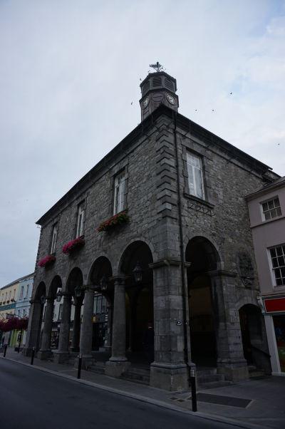 Budova radnice v Kilkenny z roku 1761, pôvodne postavená ako mýtna brána a neskôr slúžiaca ako colnica alebo súd