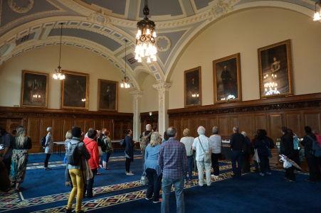 Najväčšia sála radnice určená pre oficiálne účely, najmä charitatívne