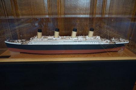 Maketa Titanicu na radnici v Belfaste