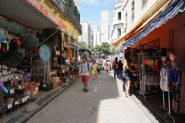 Tržnica v centre Ria de Janeiro