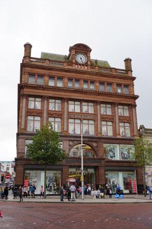 The Bank Buildings - jedno z luxusných nákupných centier v Belfaste