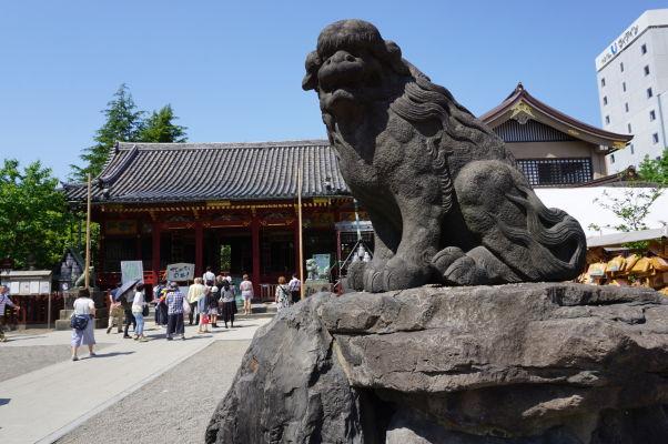 Chrám Sensó-dži (Senso-ji) v Tokiu