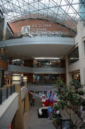 Victoria Square - ďalšie z moderných obchodných centier v Belfaste