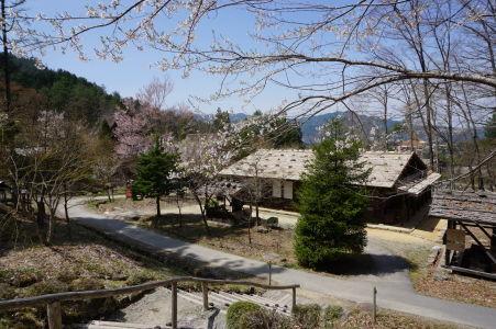 Drevený dom v skanzene Hida no Sato