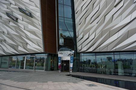 Múzeum Titanicu - Vchod