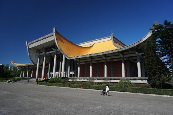 Sunjatsenov pamätník v Tchaj-peji