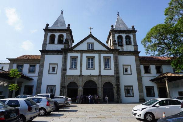 Kláštor sv. Benedikta v historickom centre Ria de Janeiro