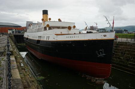 SS Nomadic - Posledná existujúca loď spoločnosti White Star Line, ktorá vyrobila aj Titanic. Nomadic bol vyrobený zhruba v rovnakej dobe, ako Titanic, takže je akýmsi menším súrodencom. Dnes je v ňom múzeum