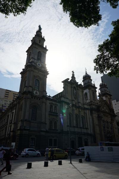 Stará katedrála v historickom centre Ria de Janeiro