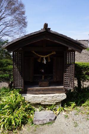Jedna zo svätýň v Hida no Sato