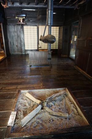 "Detail ""krbu"" v japonskom dome"