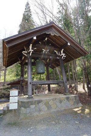 Zvon (gong) je neodmysliteľnou súčasťou svätýň v Japonsku