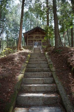 Šintoistická svätyňa v Hida no Sato