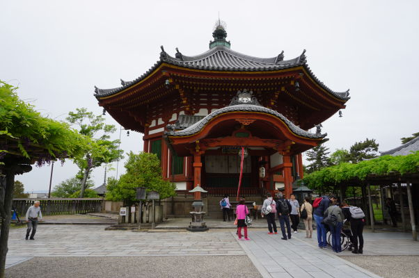 Južná osemuholníková sieň (Nan'endō) v chráme Kófuku-dži v Nare