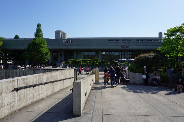 Múzeum Západného umenia v parku Ueno v Tokiu