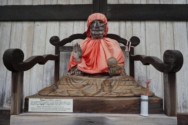 Jakuši Nyorai - Budha medicíny a uzdravenia v chráme Tódai-dži v Nare